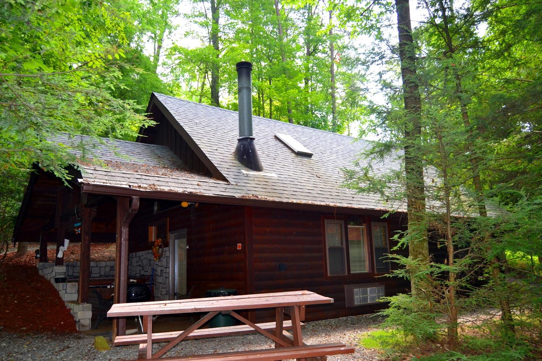 Exterior of Adventurer's Lodge