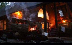 New River Gorge Cabins Fire Pit